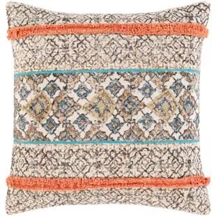 sopris cotton throw pillow cover