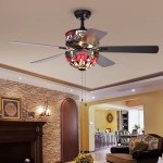 Fleur De Lis Living 15 Beare 5 Blade Standard Ceiling Fan With Pull Chain And Light Kit Included Reviews