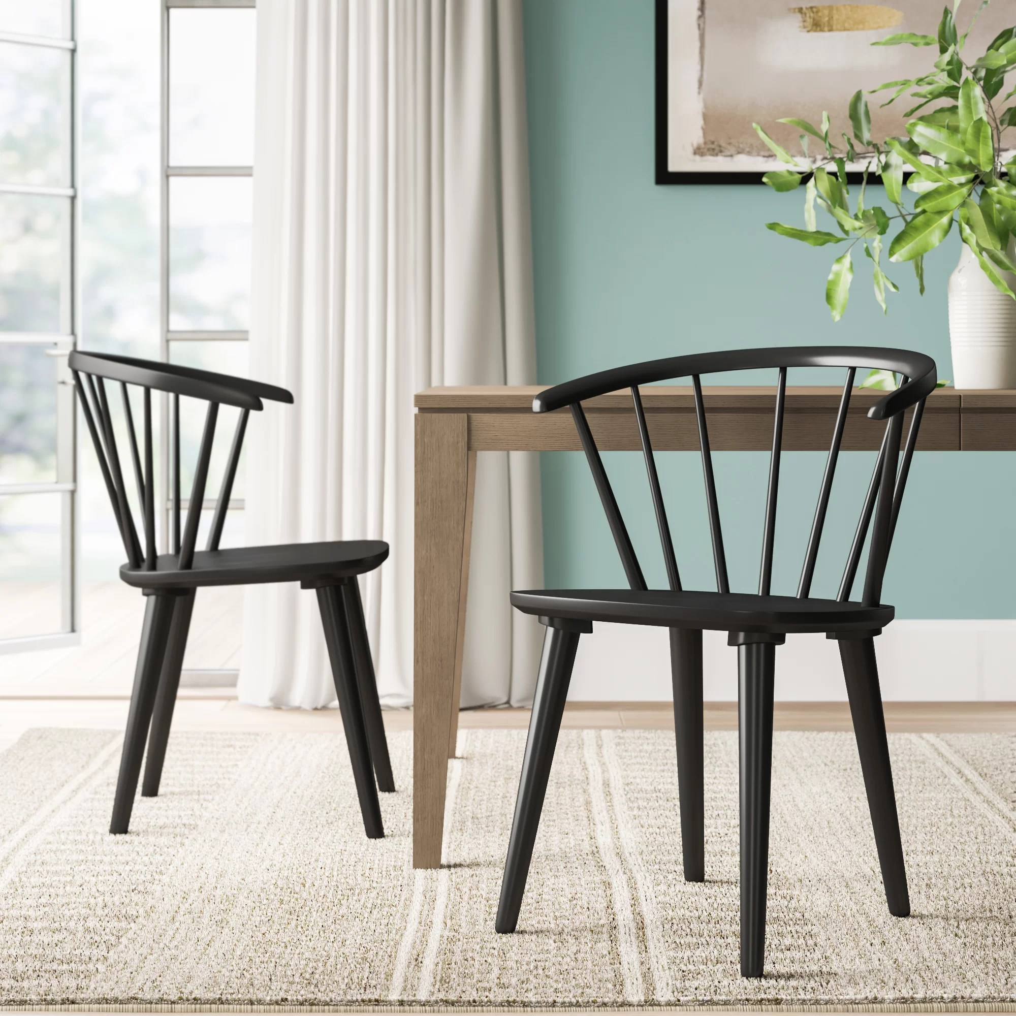 Taylor Solid Wood Dining Chair Reviews Joss Main
