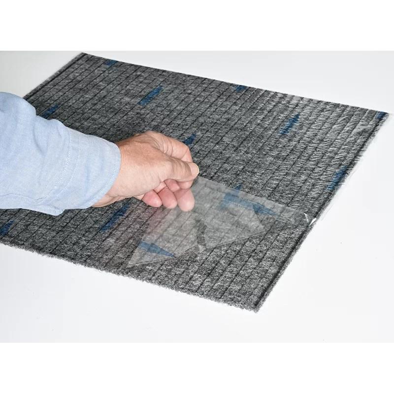 18 x 18 level loop peel and stick carpet tile