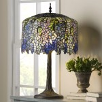 Fleur De Lis Living Crannell Tiffany Inspired Grand Wisteria Stained Glass 29 50 Table Lamp Reviews