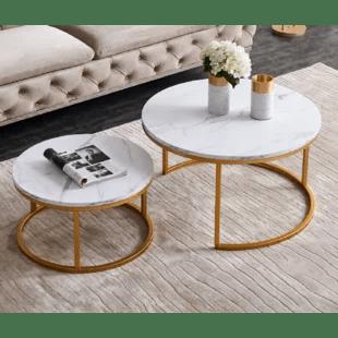 alvild frame 2 nesting tables by
