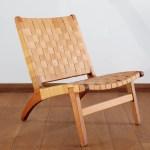 Masaya Co Natural Lounge Teak Patio Chair