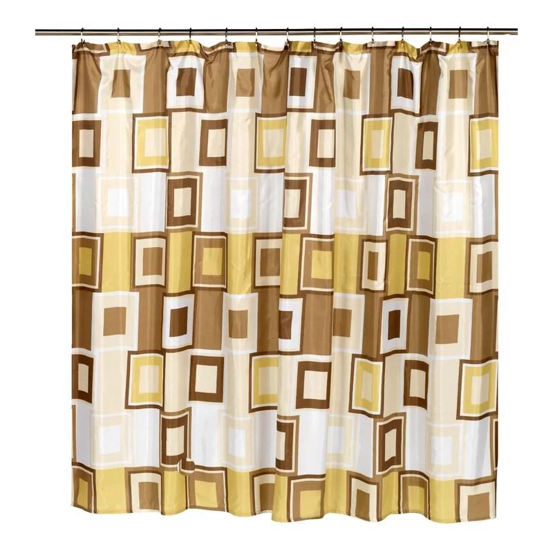 contempo single shower curtain