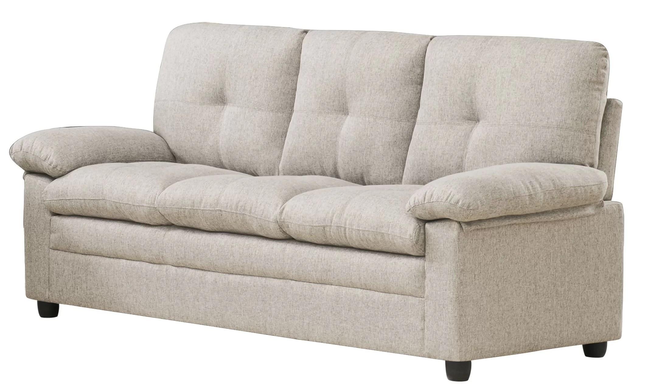 rollox 74 pillow top arm sofa