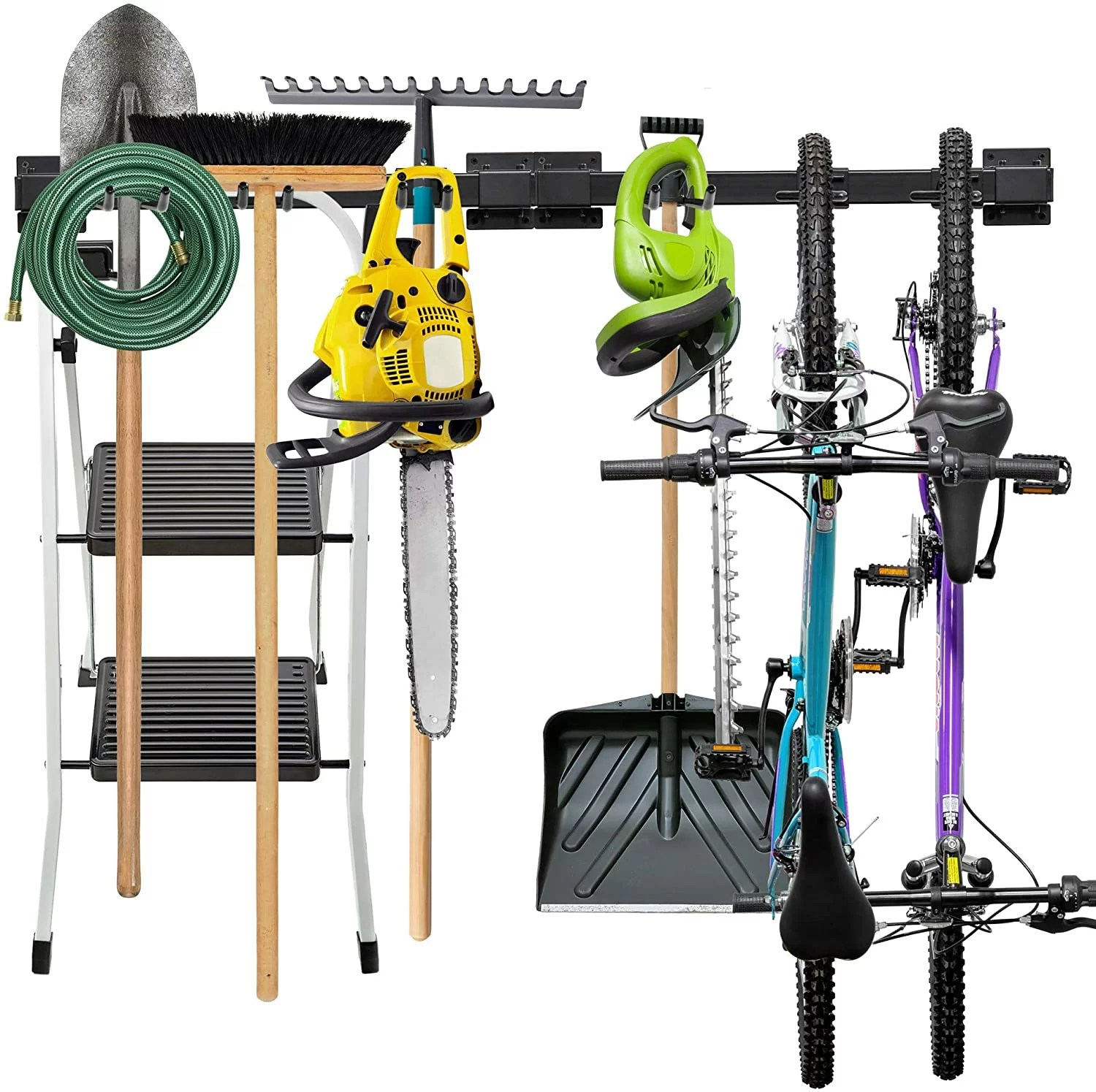 litzy wall mounted tool storage rack