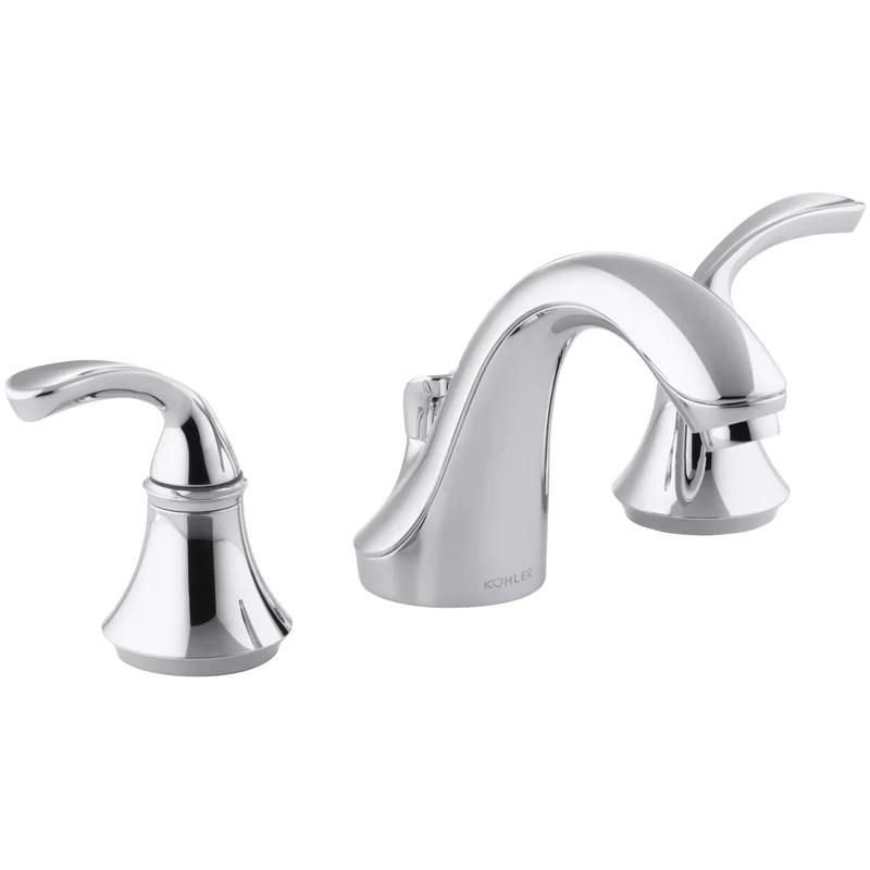 forte impressions widespread bathroom faucet with drain assembly