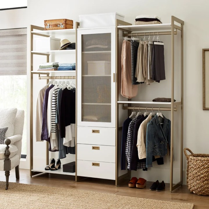 walk-in closet system