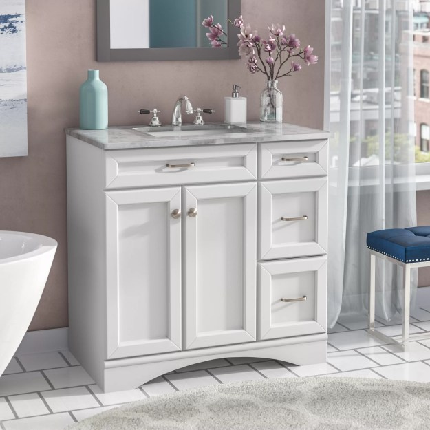 "willa arlo interiors jonina 36"" single bathroom vanity set & reviews"