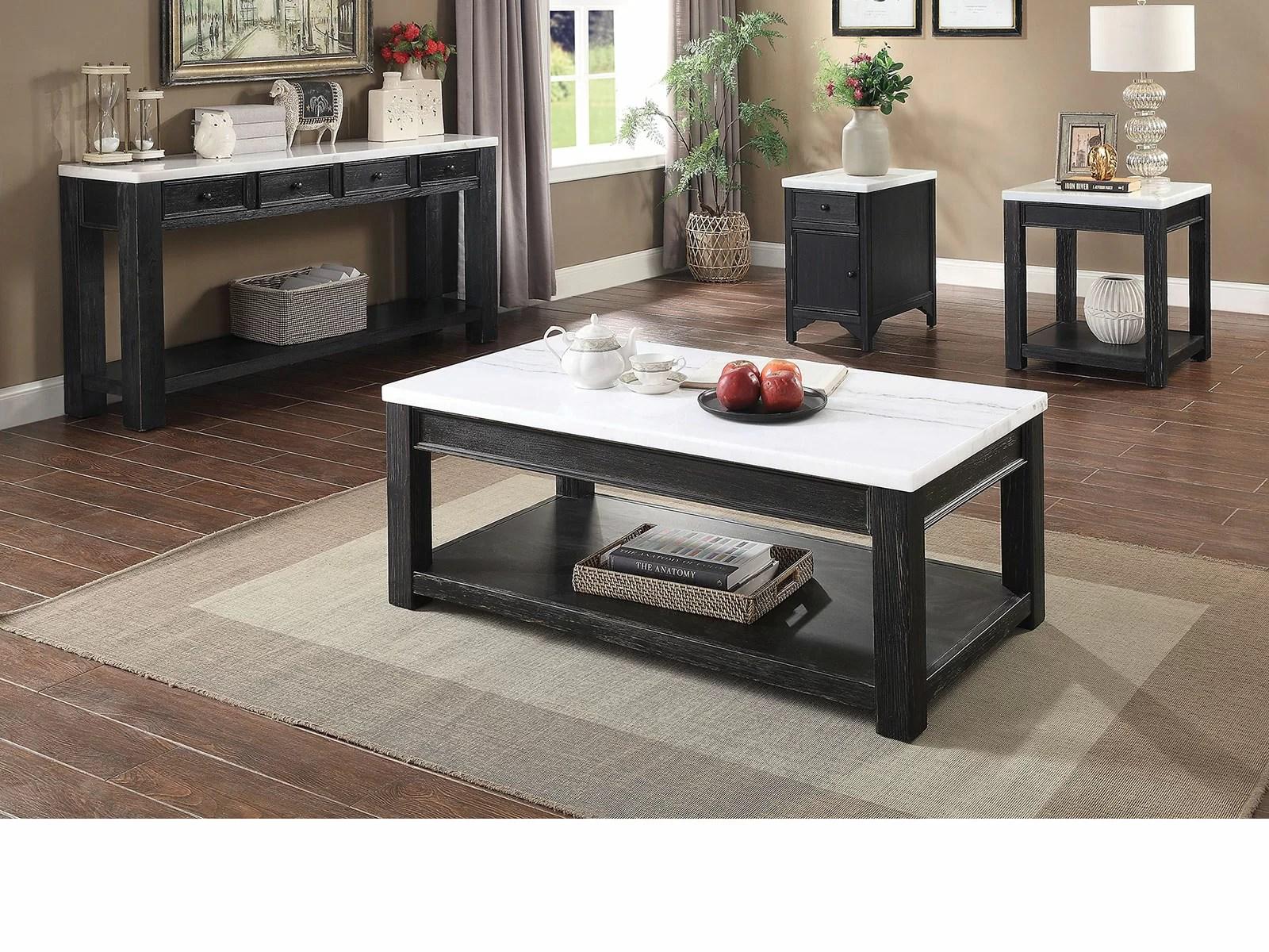 axbridge 4 piece coffee table set