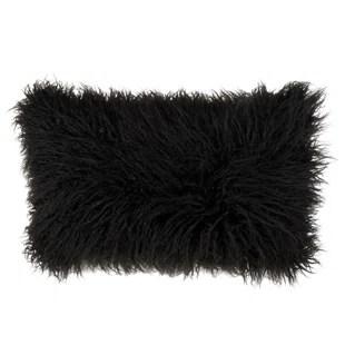 whipton mongolian faux fur lumbar pillow