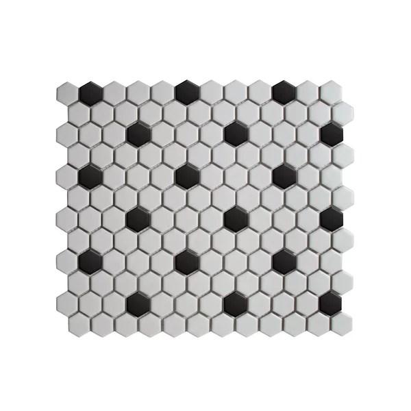large hexagon floor tile