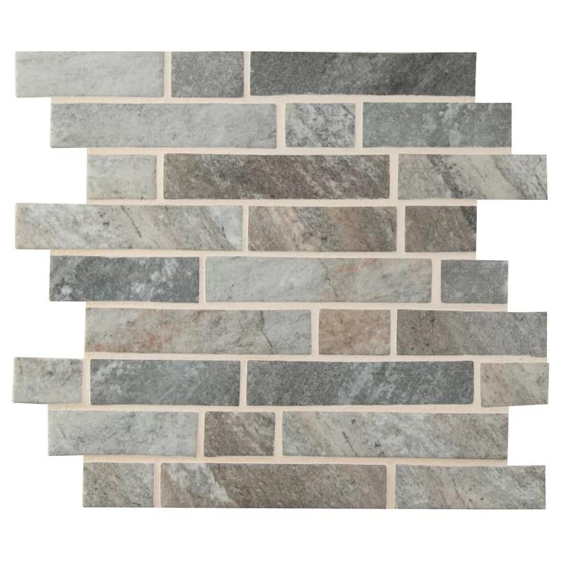 stonella 12 x 12 glass mosaic tile