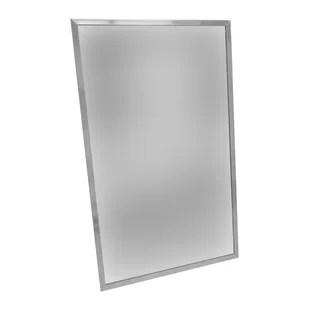 commercial modern and contemporary bathroom vanity mirror
