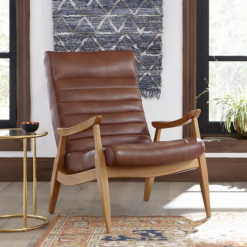 Accent Leather Chairs Sale