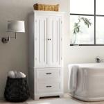 Greyleigh Arapahoe 24 W X 62 H X 16 D Free Standing Linen Cabinet Reviews Wayfair