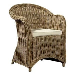 Outdoor Wicker Barrel Chair   Wayfair Batavia Barrel Chair