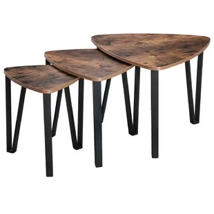 ellert 3 piece nesting tables set of 3