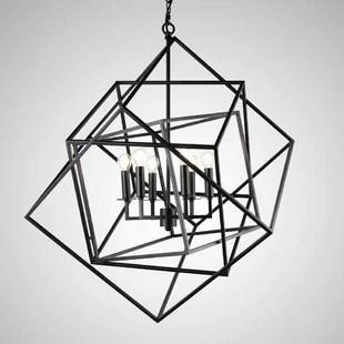 Mcelvain 6-Light LED Geometric Chandelier