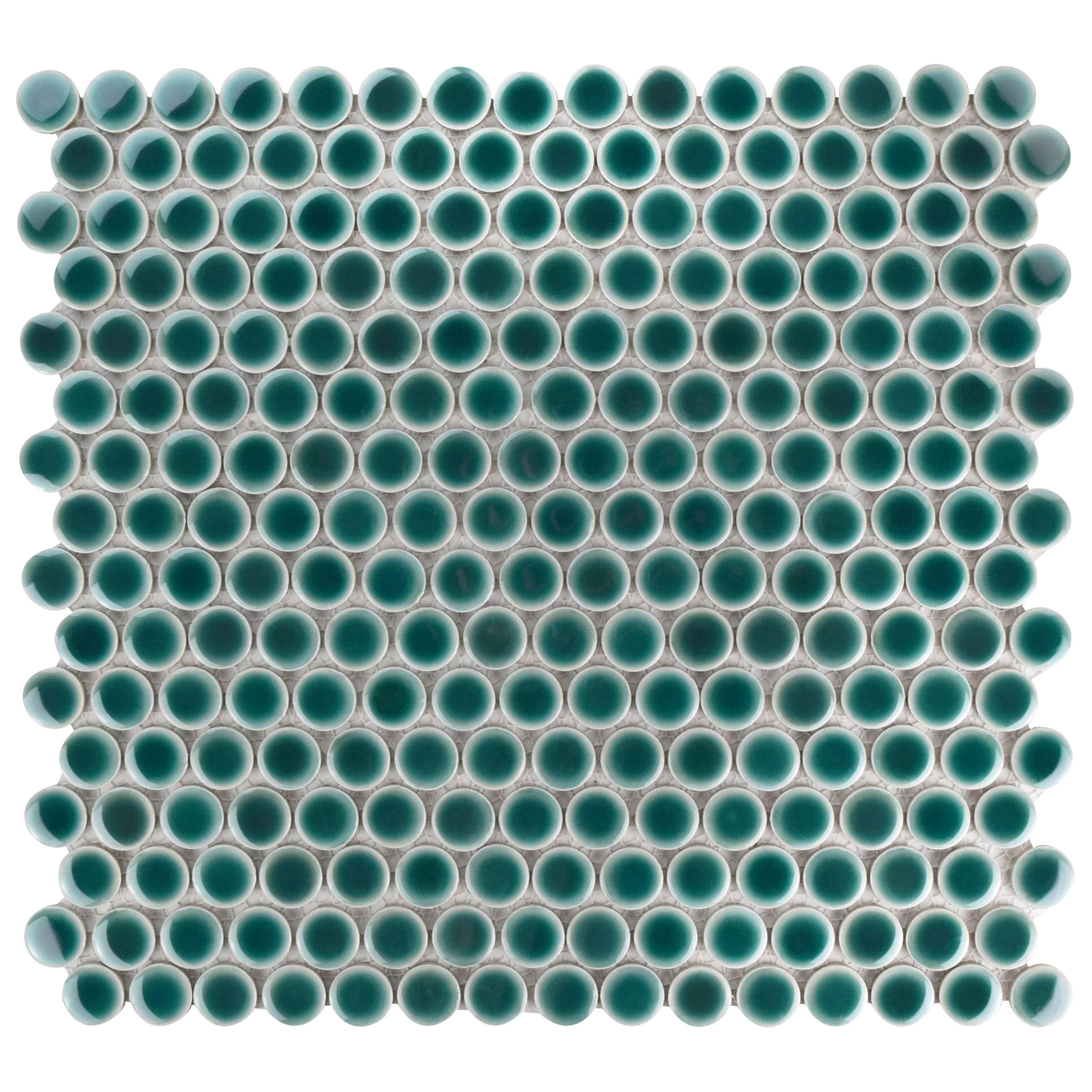 penny round floor tiles wall tiles