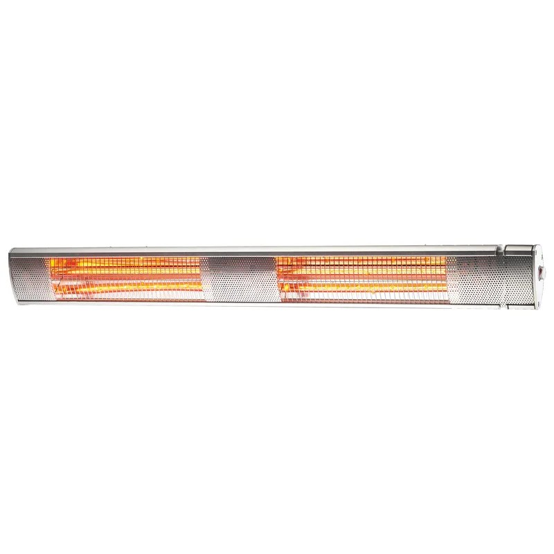 comfort zone outdoor indoor electric patio heater w remote 240v