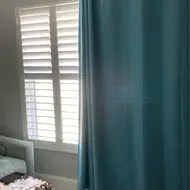 scarsdale solid thermal grommet single curtain panel