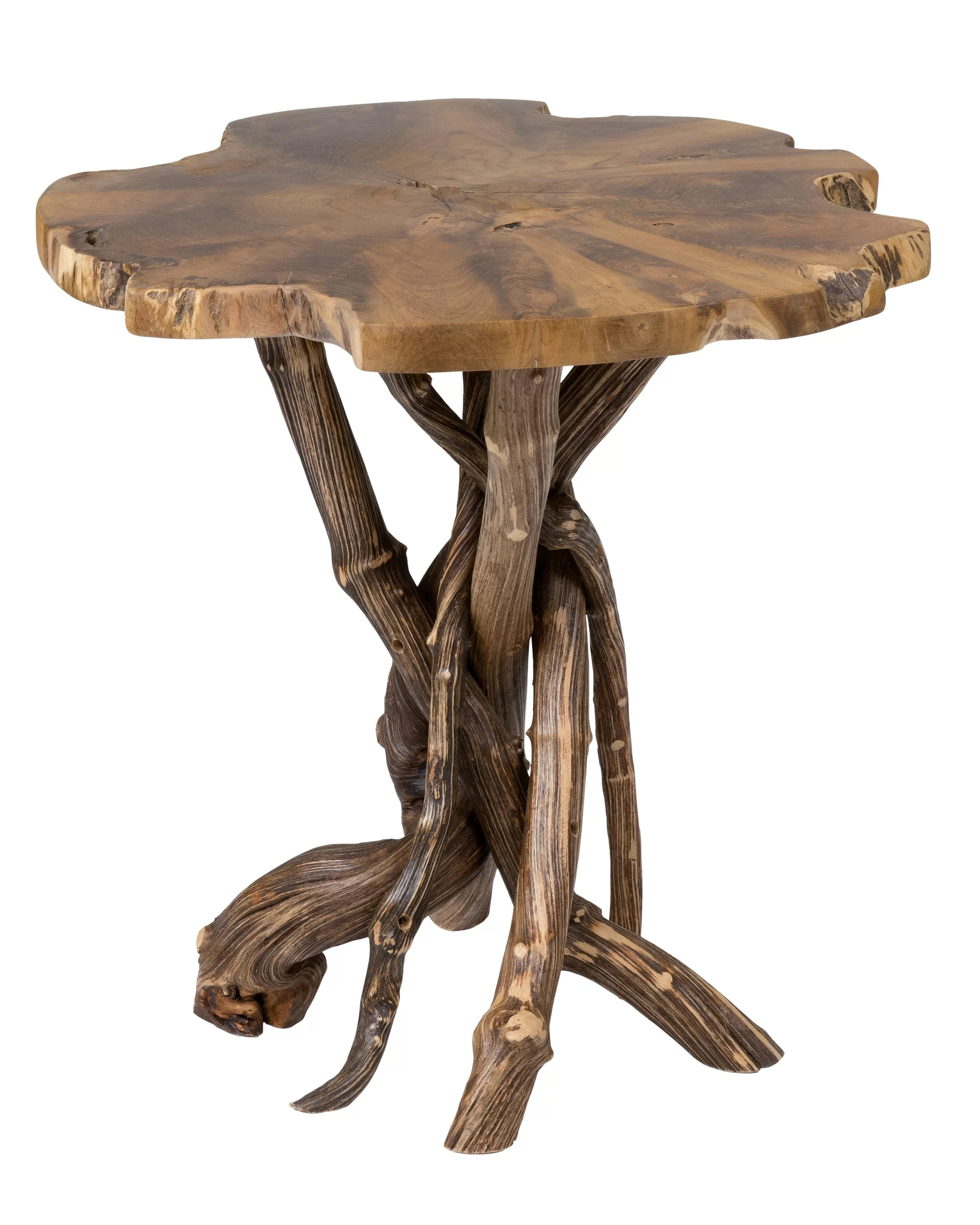 rustic end side tables free