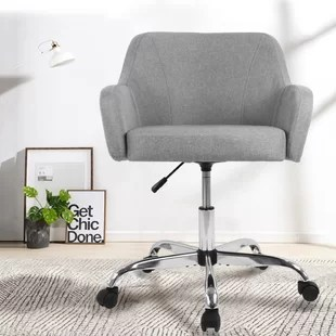 Office Chair Without Wheels Wayfair