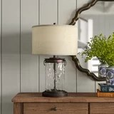 farmhouse country table lamps birch