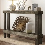 Union Rustic Dunlap Solid Wood Console Table Reviews
