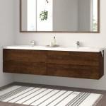 Double Wall Mounted Floating Bathroom Vanities You Ll Love In 2020 Wayfair