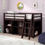 Mack Milo Kwinana Twin Low Loft Bed With Shelves And Drawers Reviews Wayfair
