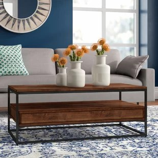 chaz frame coffee table