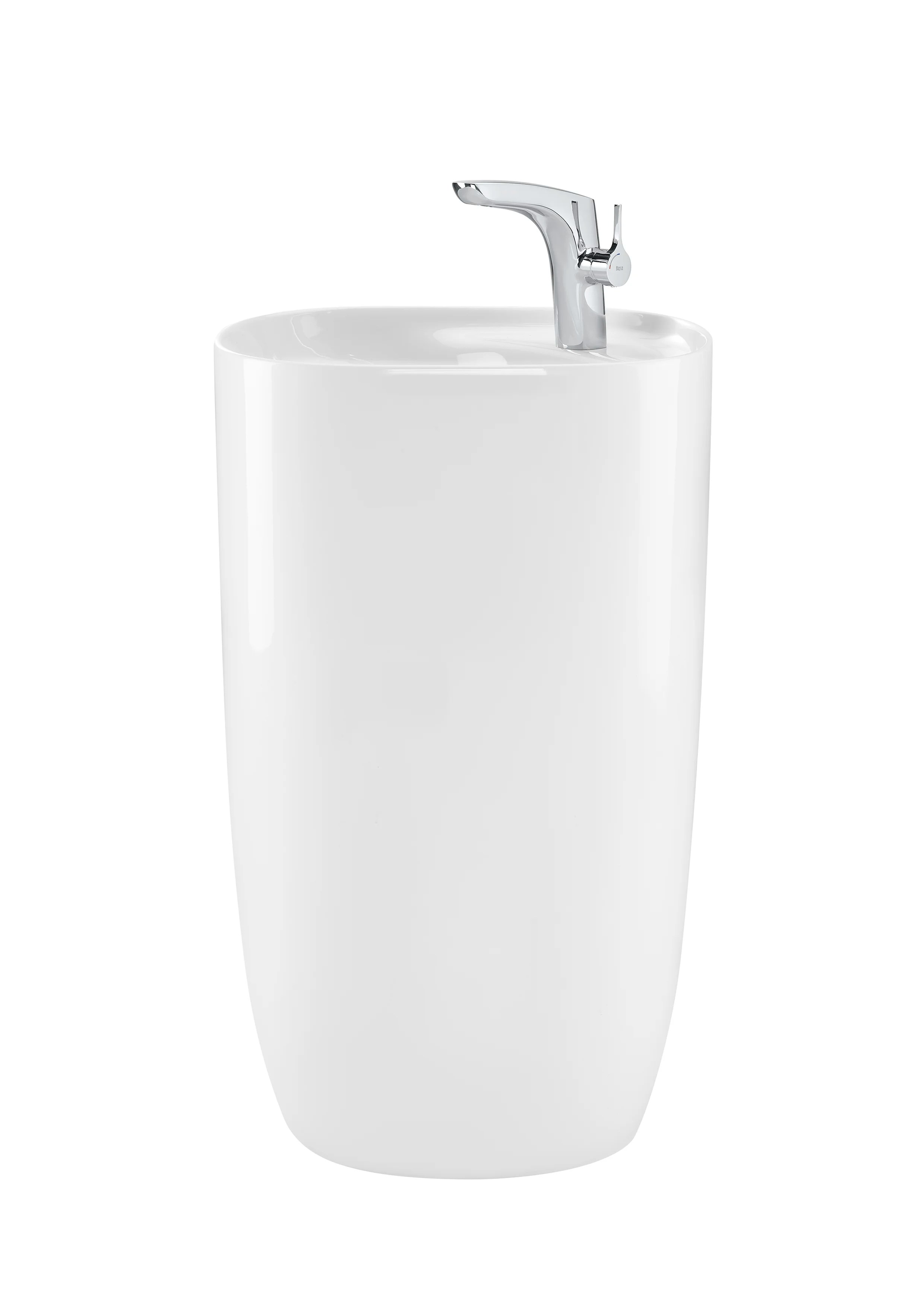 https www wayfair com home improvement pdp roca beyond glossy porcelain handmade oval pedestal bathroom sink hjal1002 html