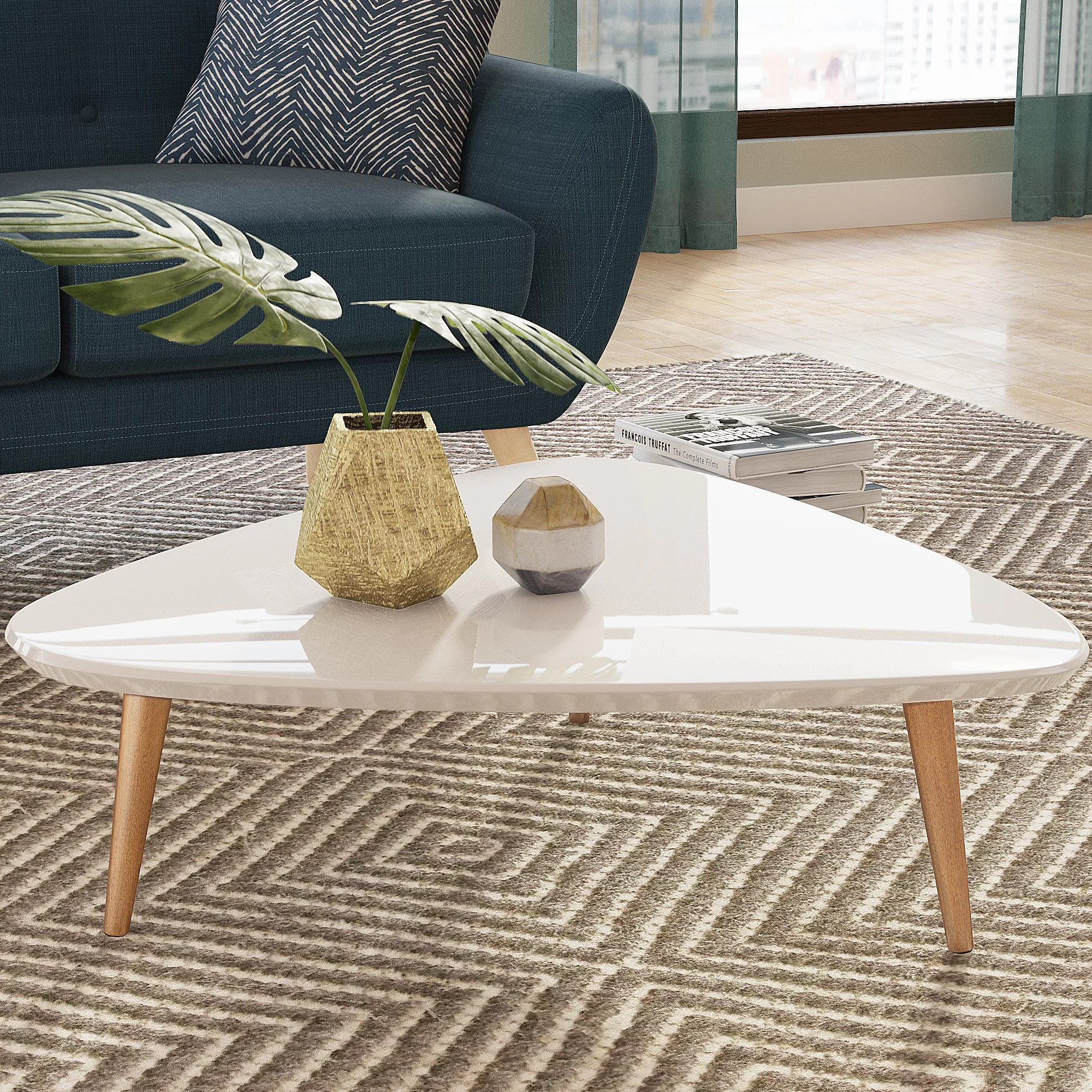 white coffee tables free shipping