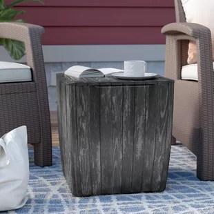 opperman plastic side table