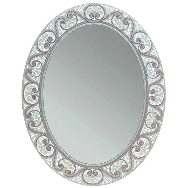 mosaic bathroom mirror | wayfair