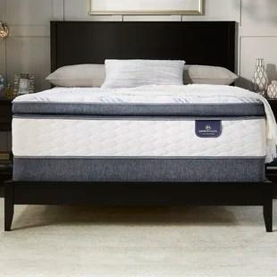 Perfect Sleeper Broadview 12 25 Super Pillow Top Plush Mattress Set