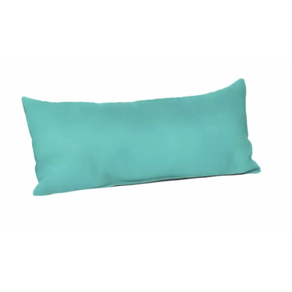 modern contemporary decorative teal lumbar pillows