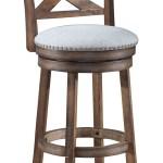 Gracie Oaks Mackin Wooden Swivel Bar Counter Stool Reviews