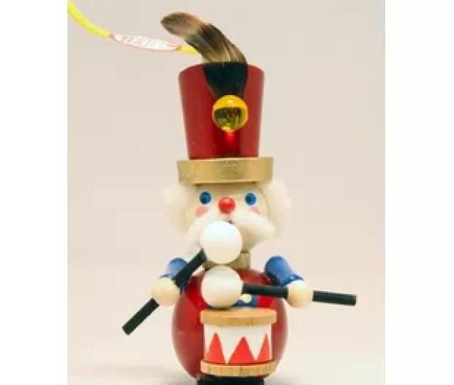 Steinbach  Days Of Christmas  Drummers German Christmas Ornament