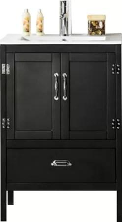 "glastonbury 24"" bathroom vanity set & reviews | allmodern"
