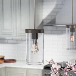 aljosha 1 light single cylinder pendant