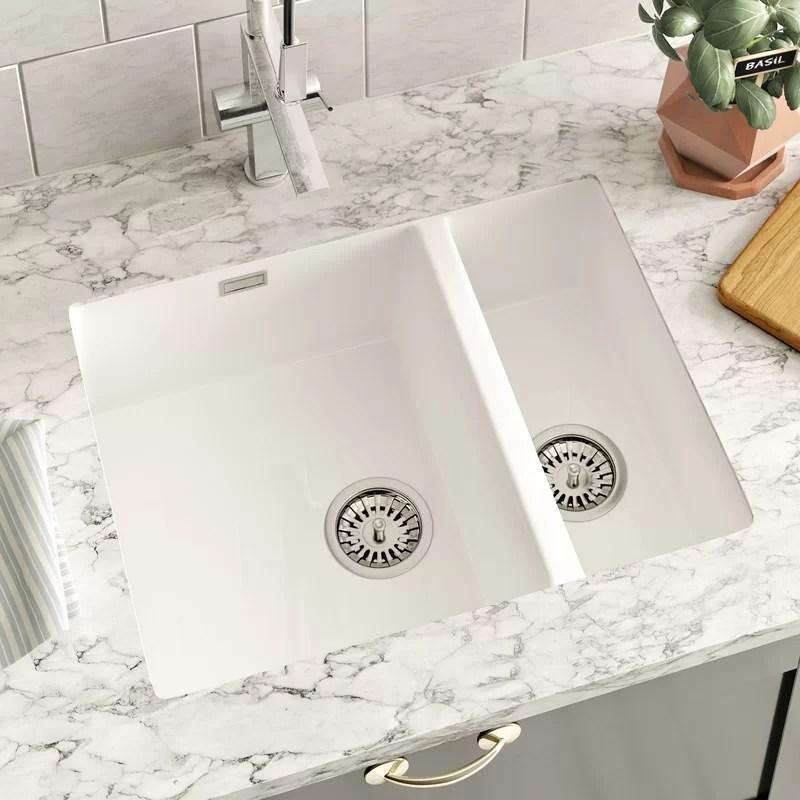 55cm x 46cm 1 5 bowl undermount kitchen sink