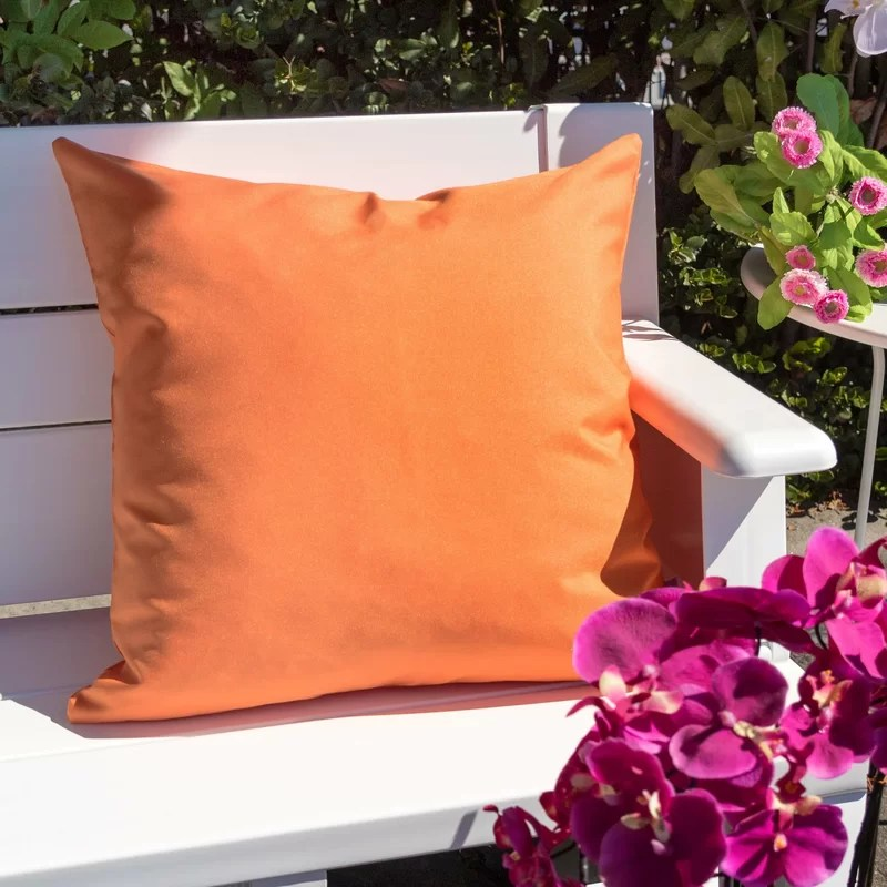 Outdoor Square Acrylic Pillow Cover & Insert (Set of 2)