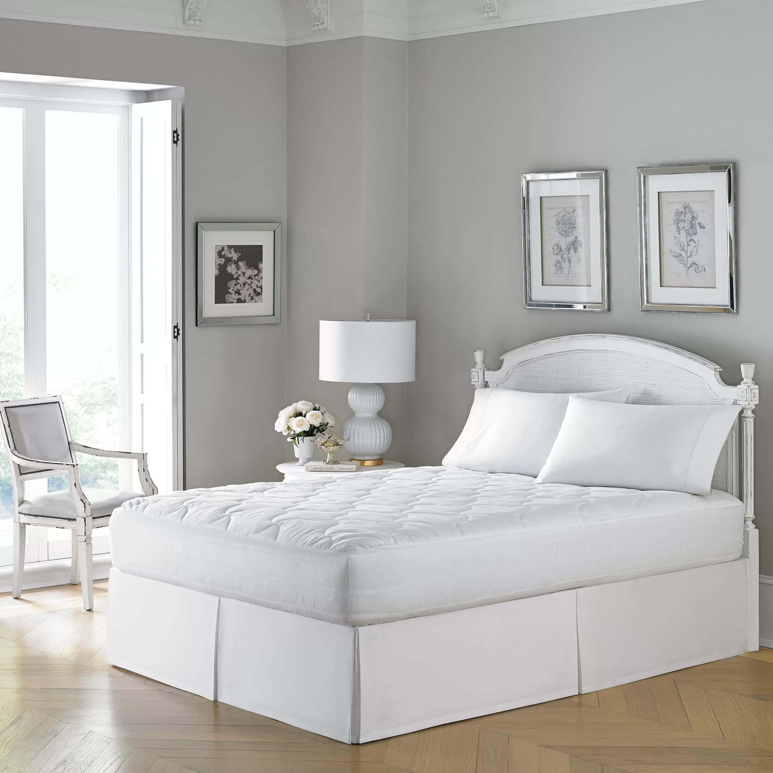 laura ashley wicking mattress pad set by laura ashley home reviews wayfair ca