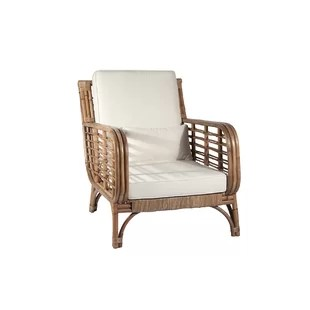 Indoor Rattan Chairs Recliner   Wayfair ca Square Back Rattan Chair
