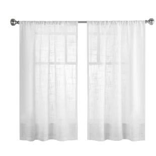 wemoorland window cafe curtain set of 2