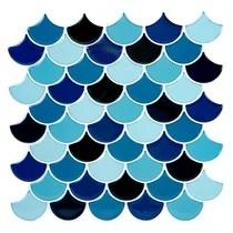 https www wayfair com home improvement sb2 bathroom fish scale peel stick backsplash tile c1864259 a130380 484639 a149040 484629 html