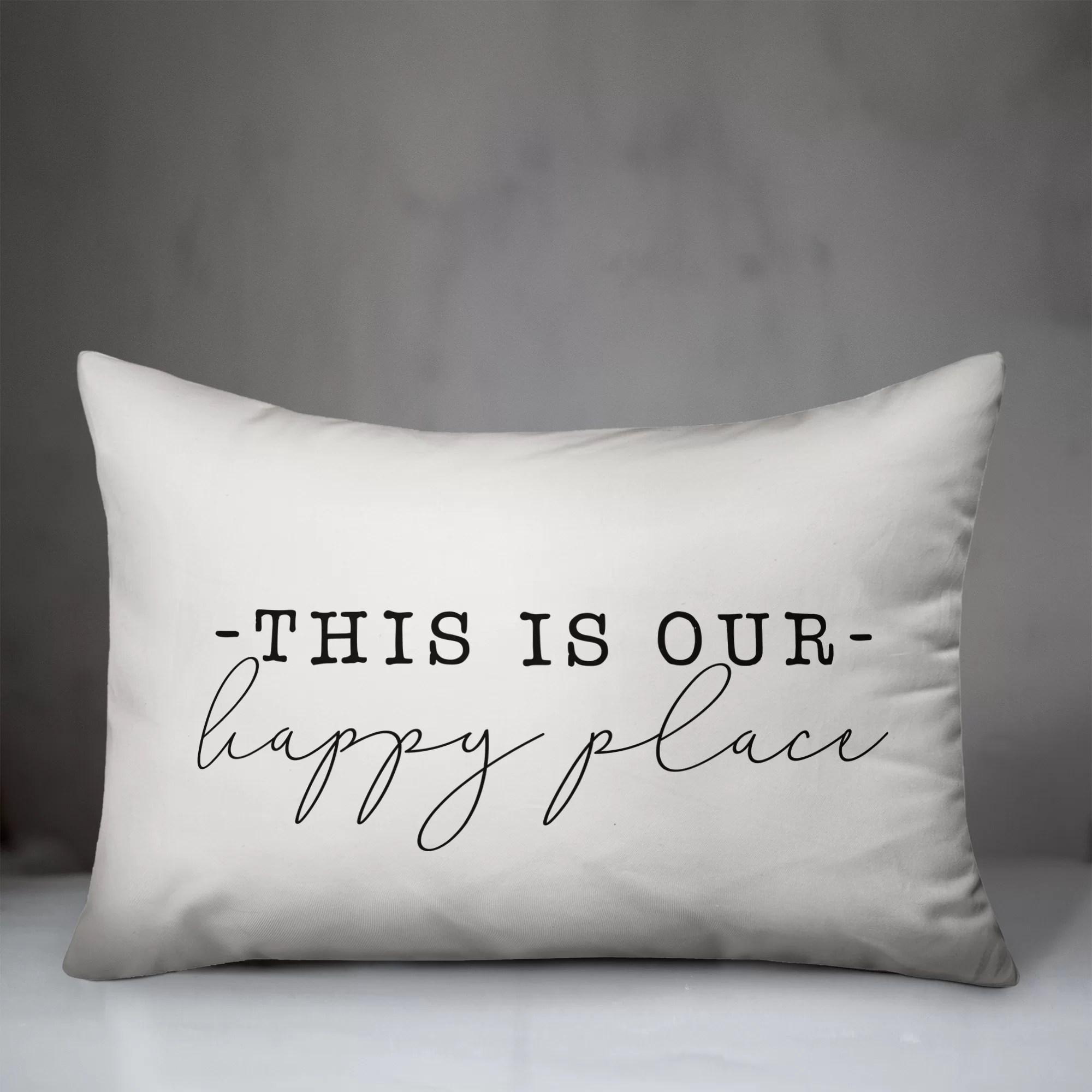 happy place pillow online